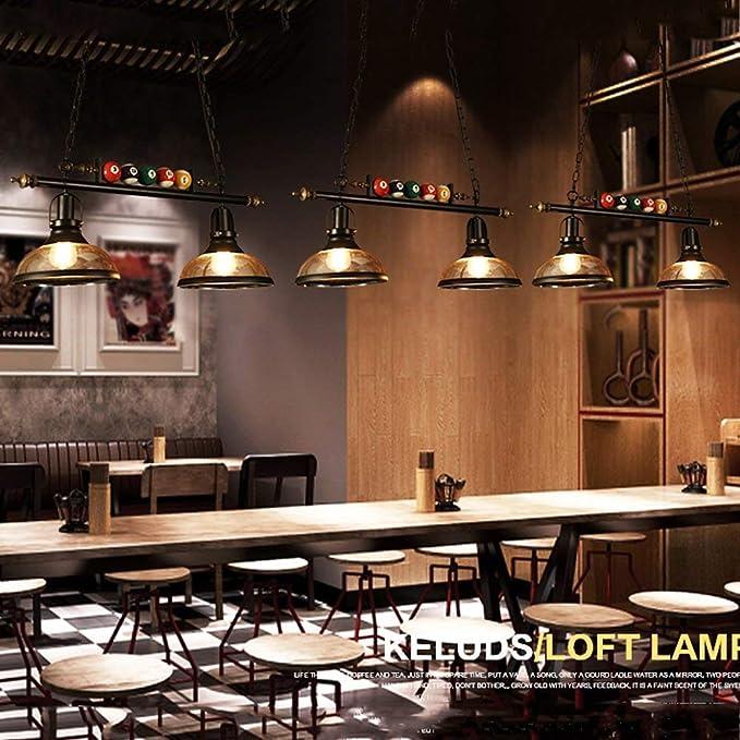 Lámpara de luz colgante Lámparas de estilo industrial retro Bar de ...
