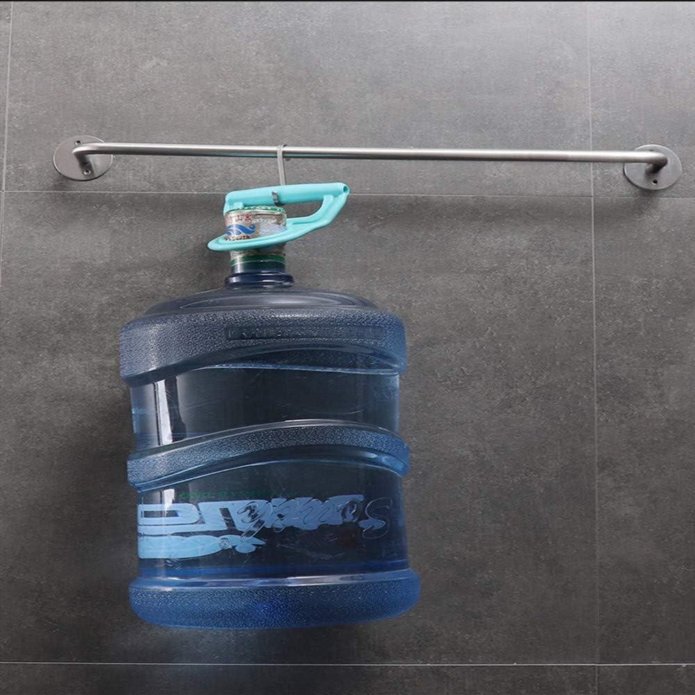 Porta Asciugamani Porta Sciugamano Alluminio Spaziale Bagno Porta Asciugamano Acciaio Inox Porta Salviette Doppio Uso Portasciugamani Da Parete,Colore Brillante 100 Cm