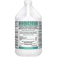 Mediclean Germicidal Cleaner Concentrate, Disinfectant, Sanitizer, Deodorizer, Fungicide, Mildewstat, Virucide, Lemon Scent, Hospitals, Industrial, Household, Inhibits Mold and Mildew (4 Gallons)