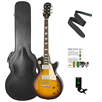 Epiphone Les Paul Standard plustop Pro solid-body Kit de Guitarra ...