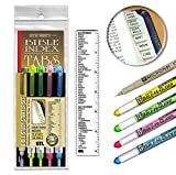 Accu-Gel & Pigma Micron Bible Study Starter Sets with Gold Verse Finder Bible Tabs