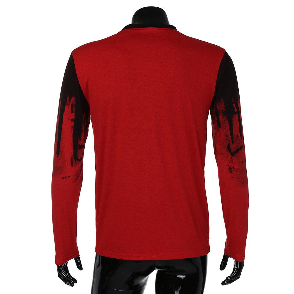 Rambling New Men Tee Slim Fit Short//Long Sleeve Muscle Casual Tops Blouse Shirts