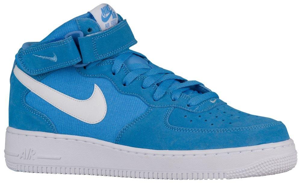 [ナイキ] Nike Air Force 1 Mid - メンズ バスケット [並行輸入品] B071776G5C US06.0 University Blue/White/White