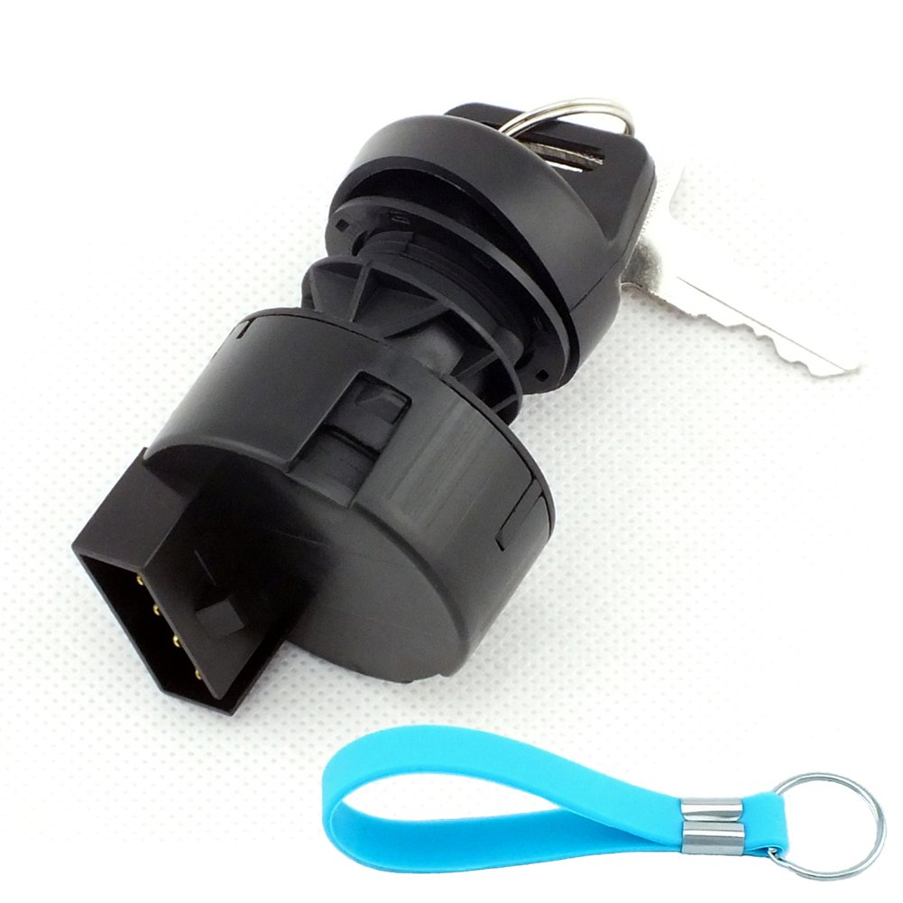 Yingshop Ignition Key Switch For Polaris Predator Rally Scrambler Sportsman Trail Blazer Boss Worker Xpedition Xplorer Ranger 175 250 325 335 400 425 450 500 600 700