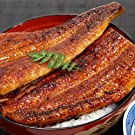 川口水産 国産うなぎ かば焼き たれ・山椒付き 3種組み合わせセット 約300g (通常梱包箱)