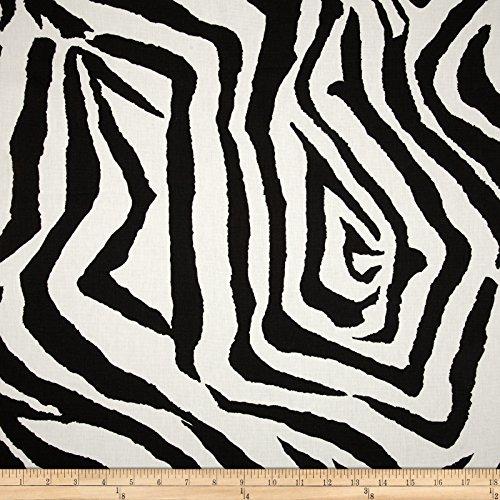 Premier Prints Zebra Black, Black
