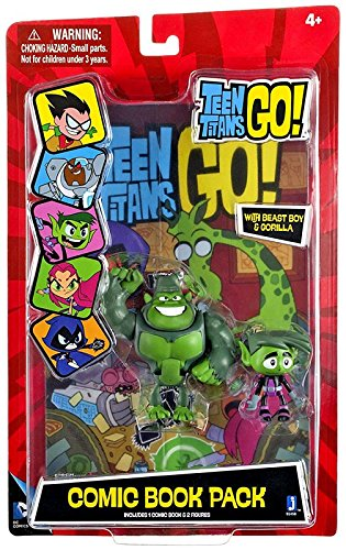 Teen Titans Go! Beast Boy Comic Book Pack ()