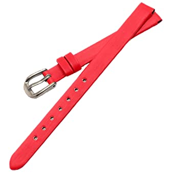 48c5c8b4a8b New 6mm 8mm 10mm Silk Satin Leather Women Ladies Watch Strap Bands 8 Colors  (6mm