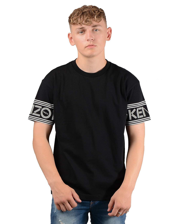0e599e9c Amazon.com: Kenzo Paris Mens 5TS04 4BD T-Shirt in Black: Clothing