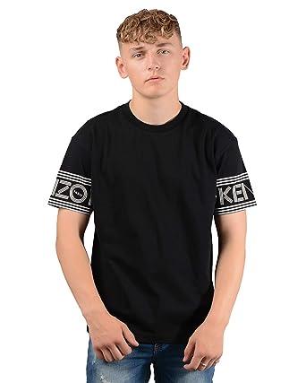 6b33954e15fb9 Amazon.com: Kenzo Paris Mens 5TS04 4BD T-Shirt in Black: Clothing