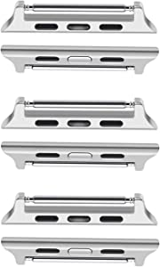 ALADRS Watch Band Connector Kit Compatible for Apple Watch Adapter 42mm 44mm [Spring Bar]