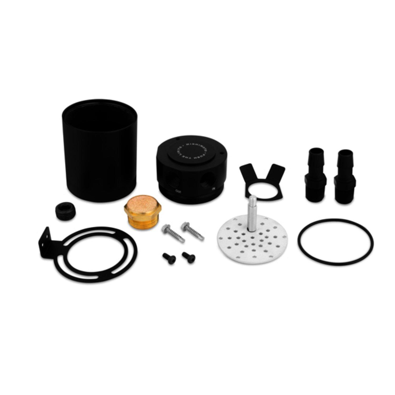 Mishimoto mmbcc-mstwo-bk compacto 2 puertos deflector de aceite Catch Can: Amazon.es: Coche y moto