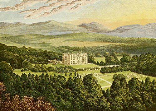 - Posterazzi Views of Seats 1880 Drumlanrig Castle Poster Print by A.F. Lydon (24 x 36) Varies