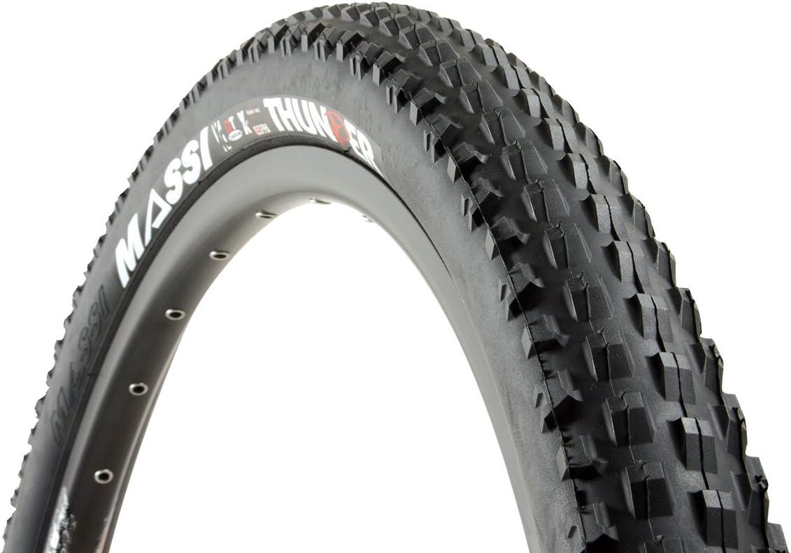 Massi Thunder aro rigido 26x2.50 Cubierta para Bicicleta, Unisex ...