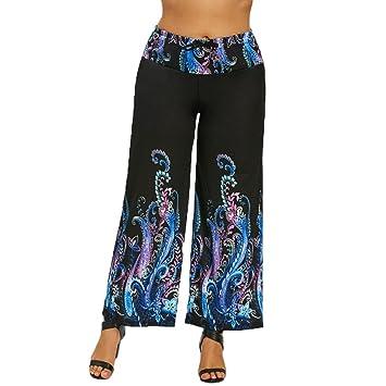 Pantalones elásticos de mujer Octopus, Yoga fitness pantalón ...