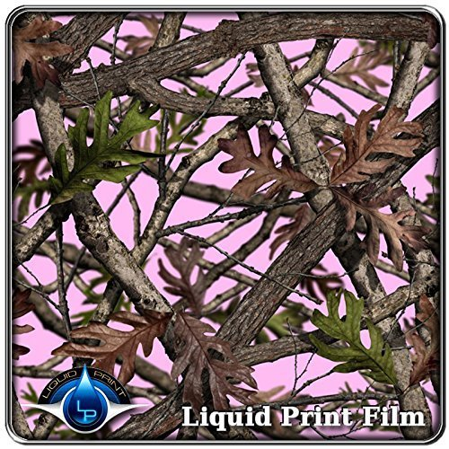 Hydrographics Film - Water Transfer Printing Film -Redemption Pink Camo - 10ft Film Roll