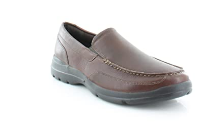 Rockport Men's Junction Point Slip-On Chocolate Shoe