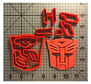 Transformers Autobot Cookie Cutter Set (5.5 inches)