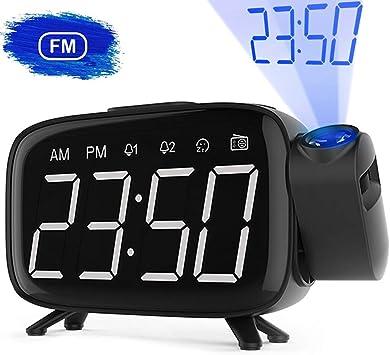 Radio Despertador, Abwei Despertador Proyector Digital ...