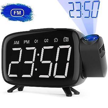 Radio Despertador, Abwei Despertador Proyector Digital Proyección ...