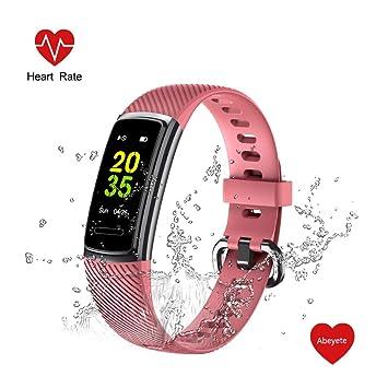 Abeyete Pulsera de Actividad Reloj Inteligente para Hombre y Mujer ...
