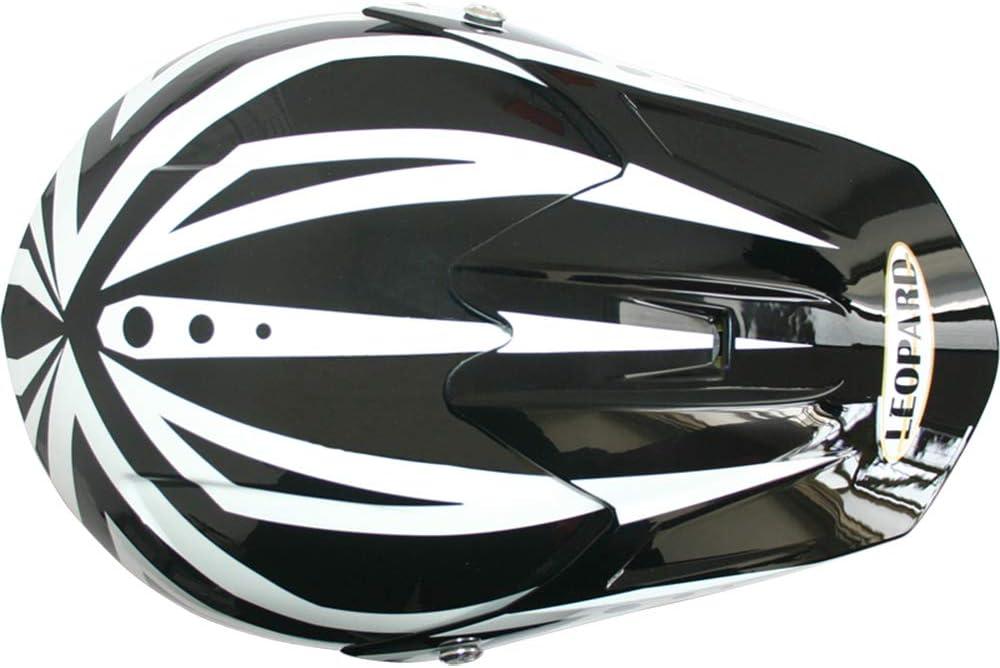 Leopard {Kinder MotocrossHelm Handschuhe Brille} Kinder Motorradhelm Full Face MX Helmet M/ädchen Jungen Dirt Bike