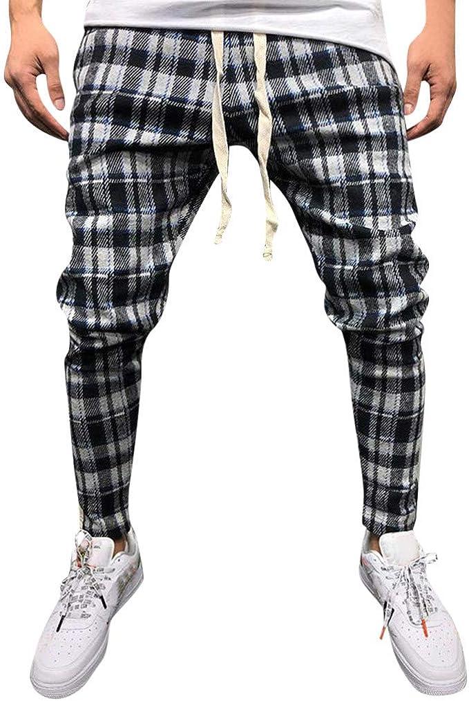 Hombre Pantalones De Chándal Casuales Jogger Pantalón ...