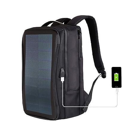 WishY 14W Paneles Solares Solar Mochilas, Cargador Solar ...