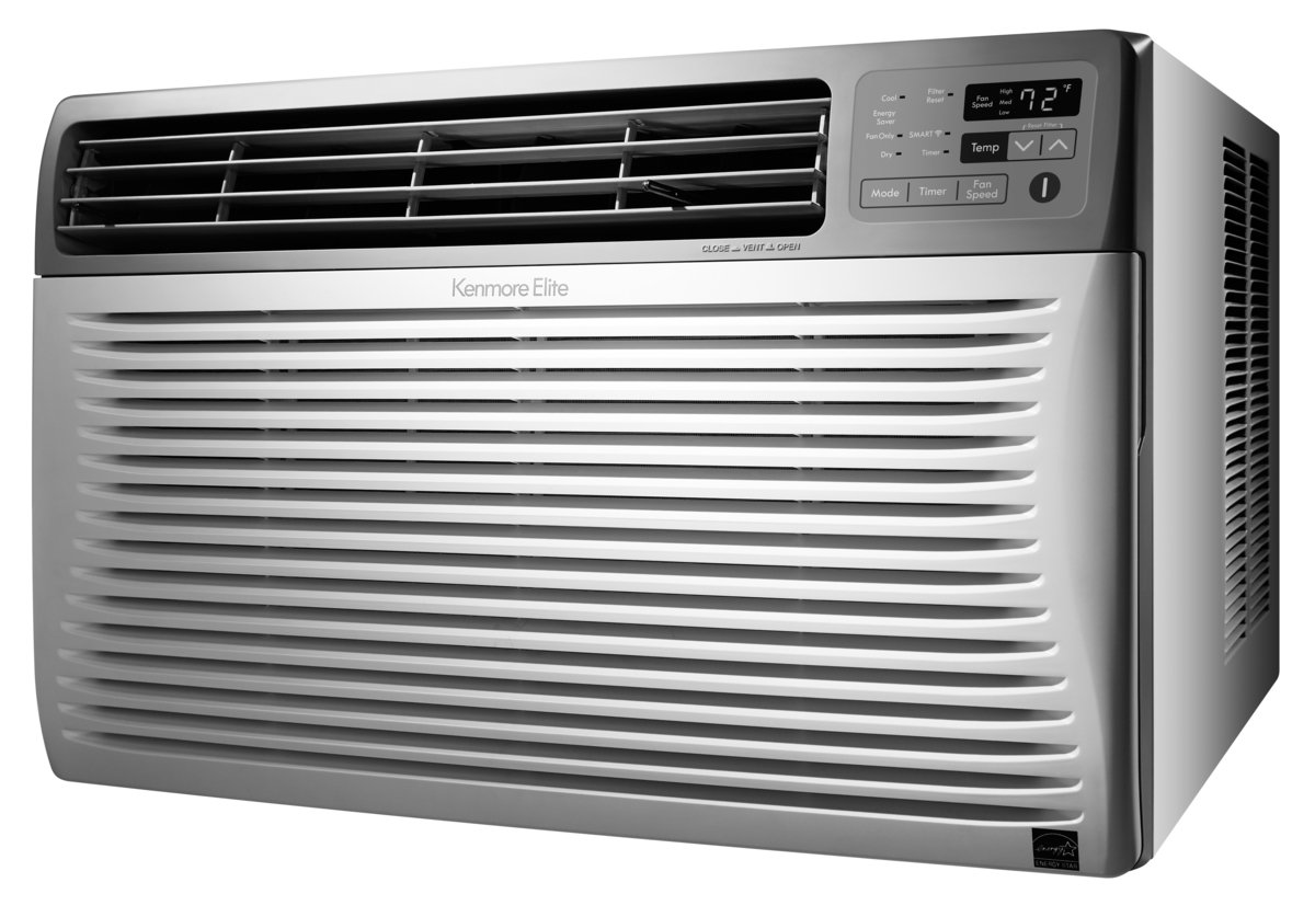 Galleon kenmore smart 12 000 btu room air conditioner for 12000 btu window air conditioner room size