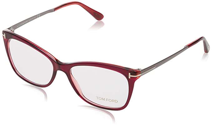 6df5d381b8 Image Unavailable. Image not available for. Color  TOM FORD Eyeglasses  FT5353 075 Shiny Fuxia 54MM