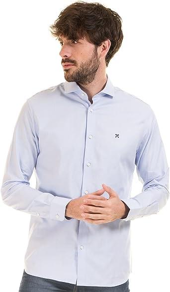 Selected Camisa Hombre Azul Cielo (XXL - Azul Claro): Amazon ...