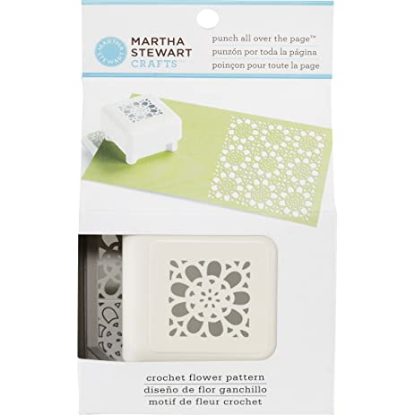 Amazon Martha Stewart Punch All Over The Page Crochet Flower