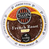 Tully's French Roast Decaf Coffee K-Cups for Keurig Brewers, 24-Count