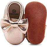 f6a237629a7a1d DELEBAO Chaussons Bébé Cuir Souple Chaussure Bebe Garcon Chausson Enfant  Fille Chaussures Bébé