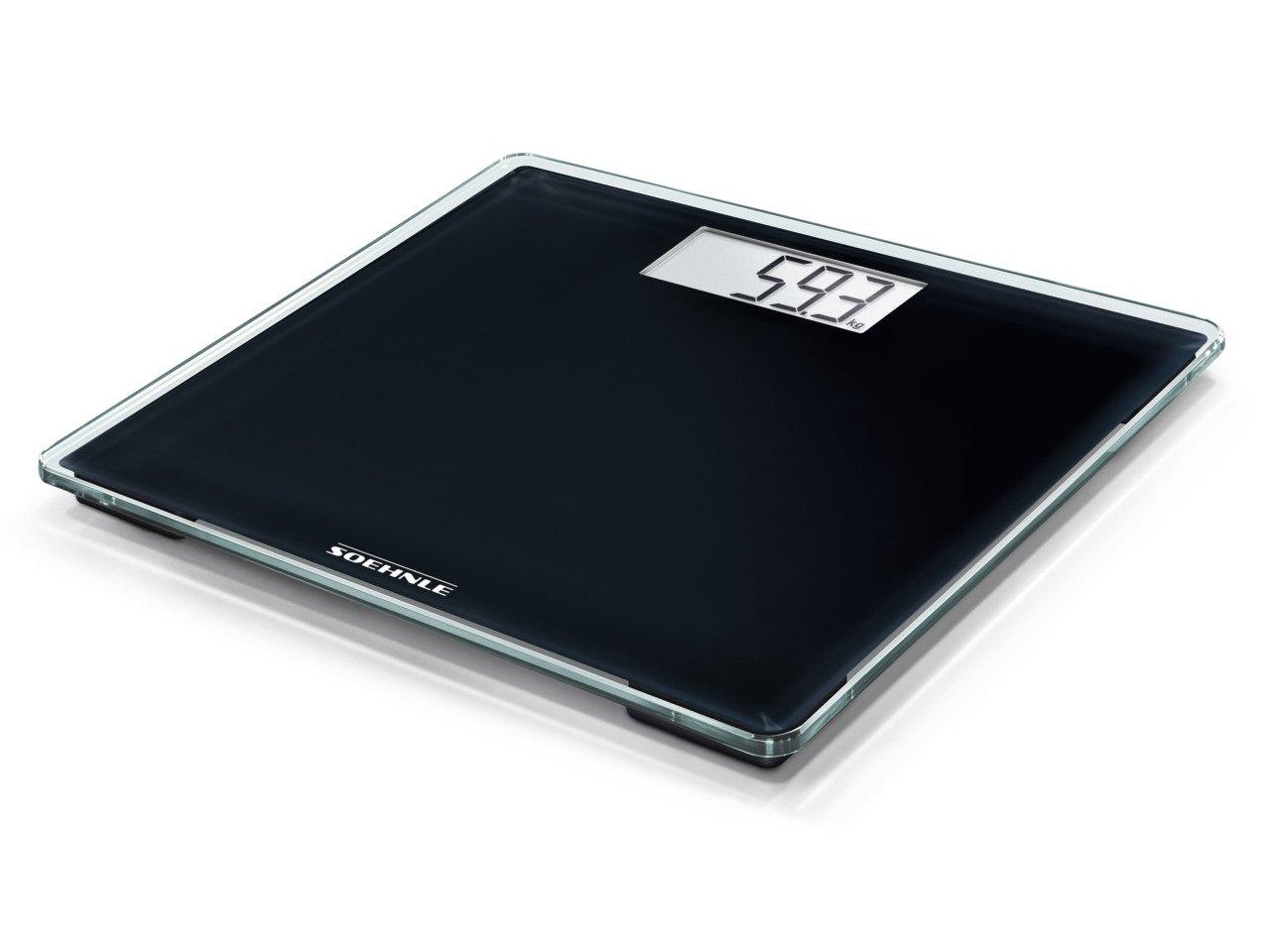 Soehnle Style Senseコンパクト電子体重計 - 100スケール、シルバー   B01N0IVMJA