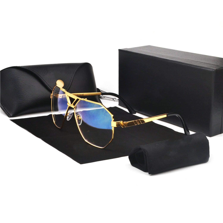 Luxury Designer Sunglasses Men Women Vintage Oversized Glasses