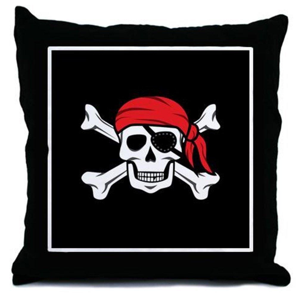 Amazon.com: CafePress – Jolly Roger pirata (en negro ...