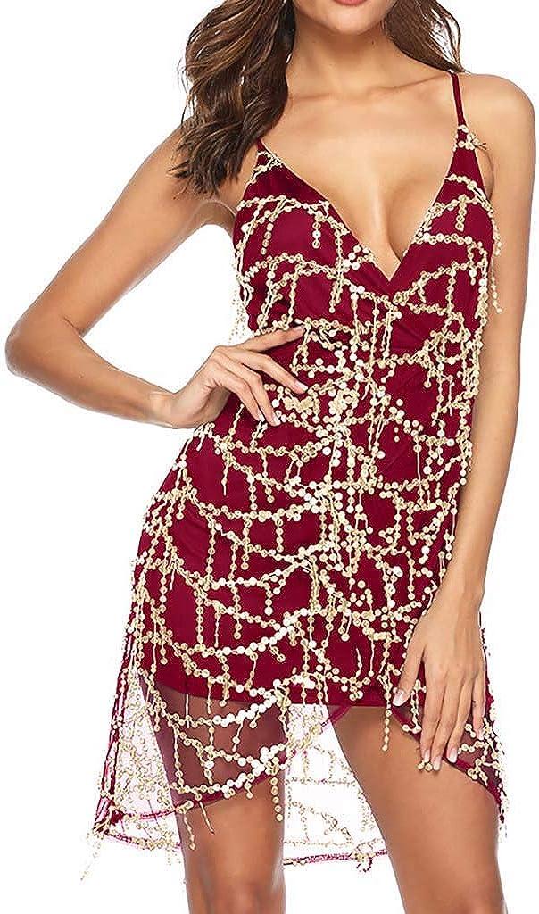 Transer- Mesh Sequin Dress...