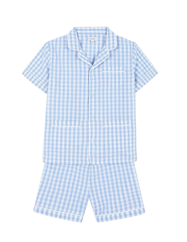 Gocco Pijama Corto Cuadro Vichy Pigiama Bambino