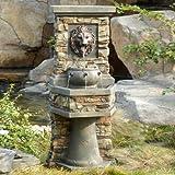 Jeco Lion Head Outdoor Indoor Water Fountain