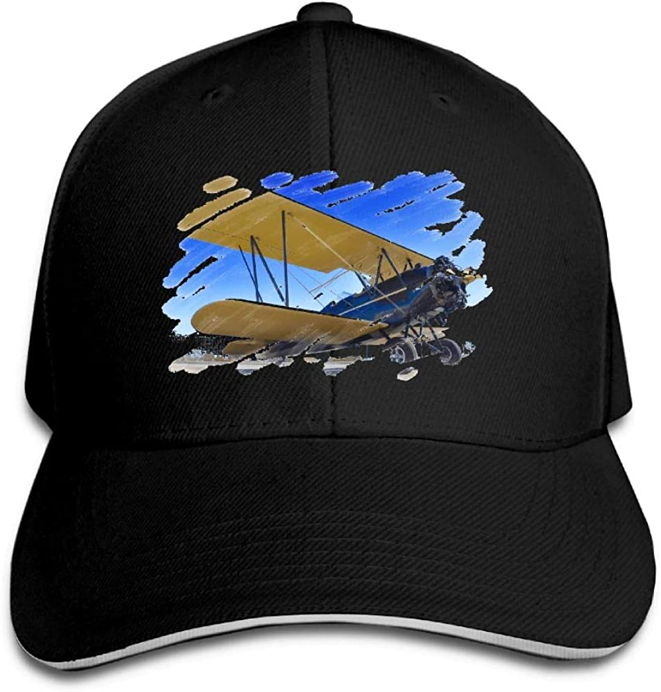 National Aviation Day Outdoor Snapback Sandwich Cap Adjustable Baseball Hat Trucker Cap