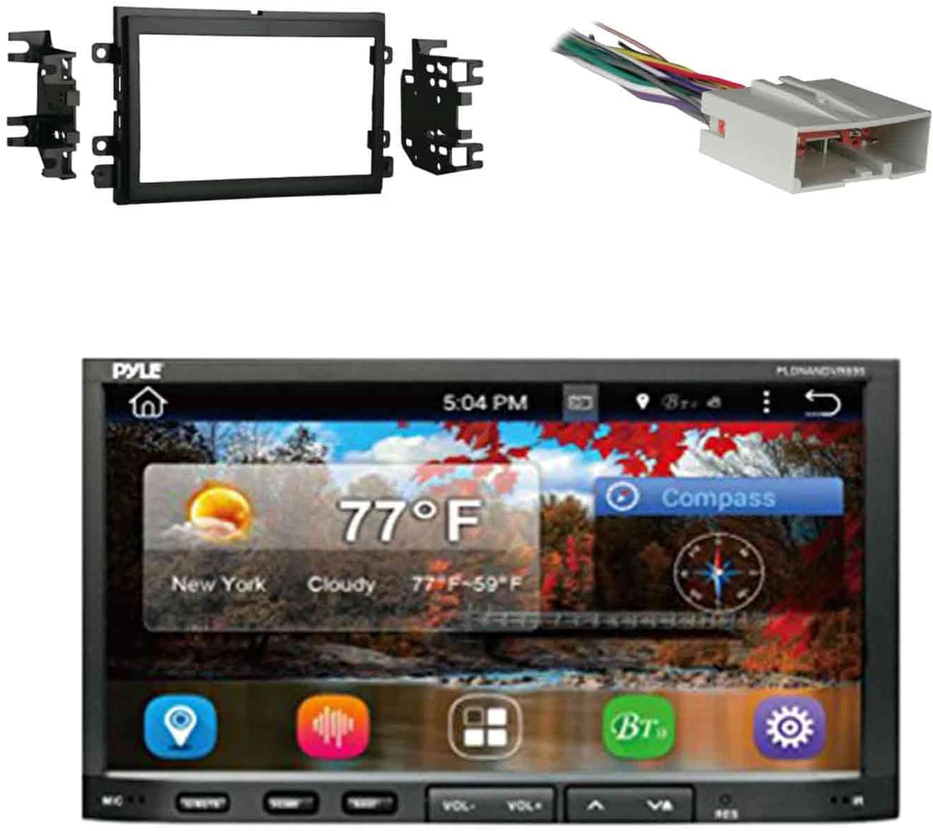 Blac Metra 95-5812 Double DIN Installation Kit for Select 2004-up Ford Vehicles