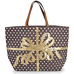 Women's Fashion Christmas Jute Tote