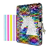 VIPbuy Magic Reversible Unicorn Sequin Notebook