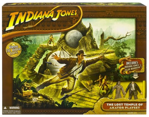 Hasbro Indiana Jones and The Kingdom of The Crystal Skull - The Lost Temple of Akator Playset