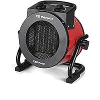 Orbegozo FHR 2050 Calefactor cerámico profesional, 2000 W, Negro/Rojo
