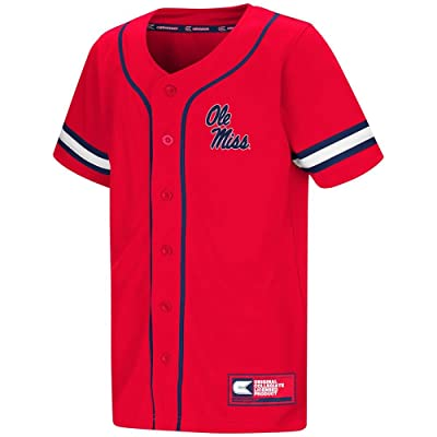 Colosseum Youth Ole Miss Rebels Baseball Jersey