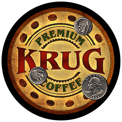 krug-family-coffee-rubber-drink-coasters-set-of-4