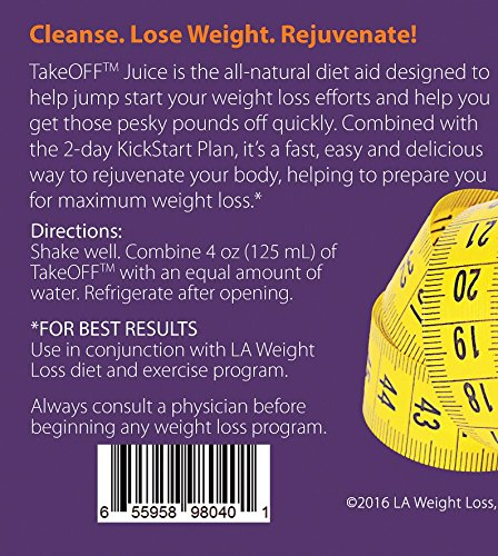 LA Weight Loss Combo - LA Bars & Takeoff Cleanse (PB & Caramel Brownie) by L A Weight Loss & Wellness (Image #8)