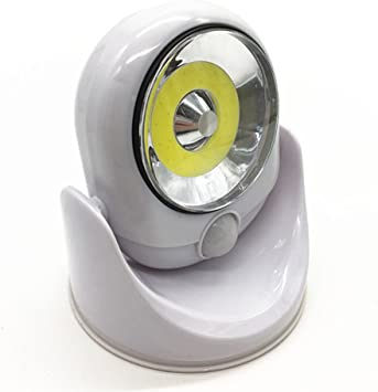 TwoCC Mp3,360 grados de luz Luz de sensor de movimiento ...